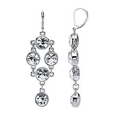 1928 Crystal Chandelier Earrings
