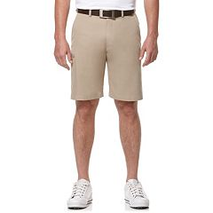 Big & Tall Grand Slam Motion Flex Micro Twill Performance Cargo Shorts