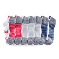 Women's PUMA 6-pk. Low-Cut Athletic Socks + Plus Bonus Pair