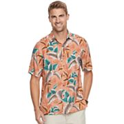 Men's Batik Bay Classic-Fit Tropical Soft Touch Pocket Button-Down Shirt