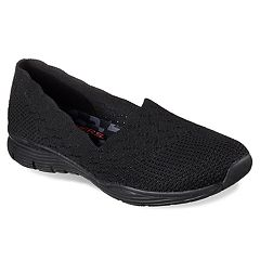 a911a86b3b3bf Skechers Seager Stat Women s Shoes. Black. clearance