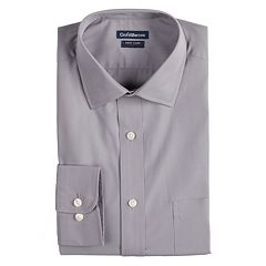 Men's Croft & Barrow® Slim-Fit Easy-Care Spread-Collar Dress Shirt