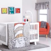 Trend Lab Dr. Seuss The Cat in the Hat 4-pc. Crib Bedding Set