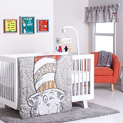 Trend Lab Dr Seuss The Cat In Hat 4 Pc Crib Bedding