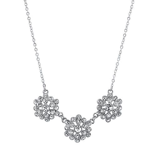1928 Crystal Cluster Necklace