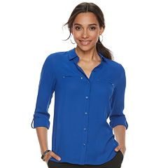 Women's Apt. 9® Convertible Button Tab Blouse