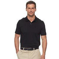 Men's Croft & Barrow® Tailored-Fit Easy-Care Interlock Polo