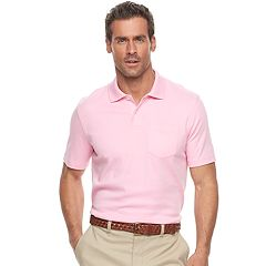 Men's Croft & Barrow® Tailored-Fit Easy-Care Interlock Polo