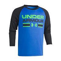 Boys 4-7 Under Armour Logo Raglan Tee