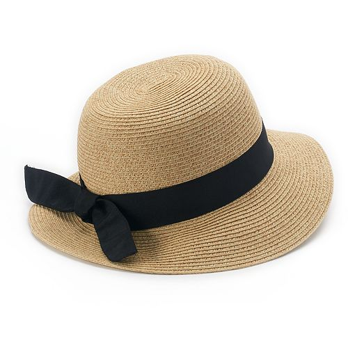 5bc3b0bf833ec Women s SONOMA Goods for Life™ Woven Cloche Hat