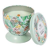 WoodWick Gallerie Tin Secluded Garden 8.5-oz. Candle Jar