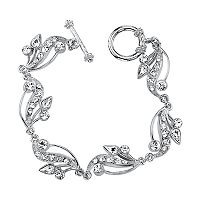 1928 Crystal Vine Toggle Bracelet