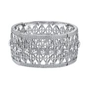 1928 Crystal Lattice Stretch Bracelet