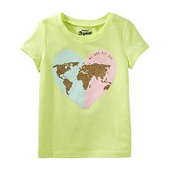 Girls 4-8 OshKosh B'gosh® 'We Are All One' Tee