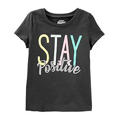 Girls 4-8 OshKosh B'gosh® 'Stay Positive' Tee