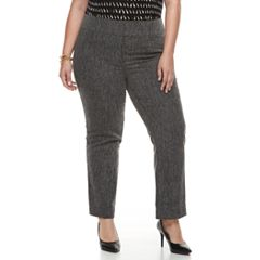 Plus Size Apt. 9® Magic Waist Career Pants