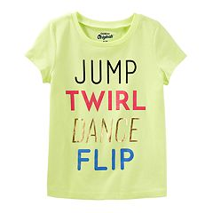 Girls 4-8 OshKosh B'gosh® 'Jump Twirl Dance Flip' Tee