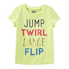 Girls 4-8 OshKosh B'gosh® 'Jump Twirl Dance Flip' Tee