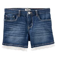 Girls 4-12 OshKosh B'gosh® Eyelet Trim Jean Shorts
