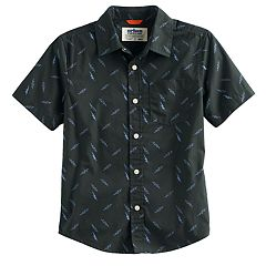 Boys 8-20 Urban Pipeline® Printed MaxWear Button-Down Shirt