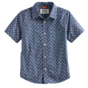 Boys 8-20 & Husky Urban Pipeline? Printed MaxWear Button-Down Shirt