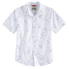 Boys 8-20 & Husky Urban Pipeline™ Printed MaxWear Button-Down Shirt