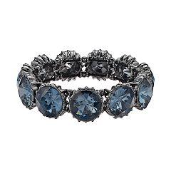 Simply Vera Vera Wang Round Stone Stretch Bracelet