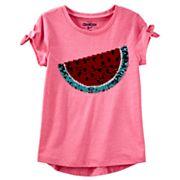 Girls 4-12 OshKosh B'gosh® Watermelon Flip Sequin Graphic Tee