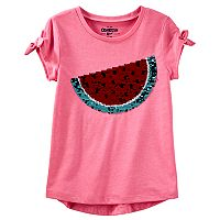 Girls 4-12 OshKosh B'gosh® Watermelon Flip Sequin Graphic Tee