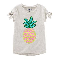 Girls 4-12 OshKosh B'gosh® Pineapple Flip Sequin Graphic Tee