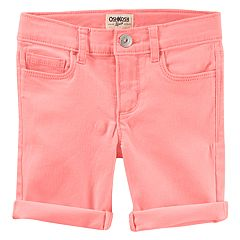Girls 4-12 OshKosh B'gosh® Neon Bermuda Jean Shorts