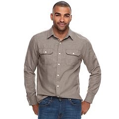 Men's SONOMA Goods for Life™ Modern-Fit Button-Down Utility Shirt