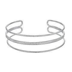 LC Lauren Conrad Textured Coil Cuff Bracelet