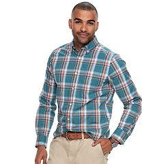 Men's SONOMA Goods for Life™ Flexwear Modern-Fit Stretch Poplin Button-Down Shirt