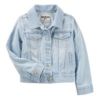 Girls 4-12 OshKosh B'gosh® Classic Denim Wind Wash Jacket