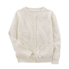 Girls 4-12 OshKosh B'gosh® Pointelle Cardigan