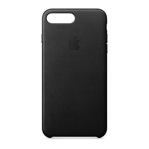 Apple iPhone 8 / 7 Plus Leather Case - Black