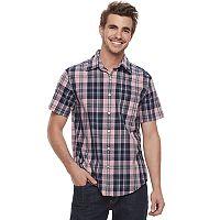 Men's SONOMA Goods for Life™ Flexwear Modern-Fit Poplin Button-Down Shirt