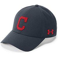 Men's Under Armour Cleveland Indians Driving Adjustable Cap