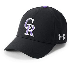 Men's Under Armour Colorado Rockies Driver Cap
