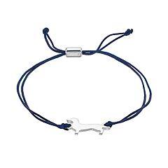 LC Lauren Conrad Navy Dachshund Friendship Bracelet