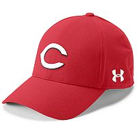 Men's Under Armour Cincinnati Reds Driving Adjustable Cap