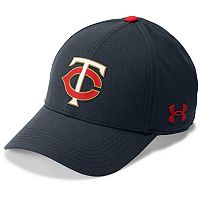 Men's Under Armour Minnesota Twins Driving Adjustable Cap
