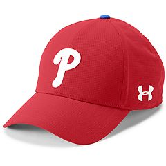 64466f25923 Men s Under Armour Philadelphia Phillies Driving Adjustable Cap