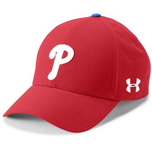 Men's Under Armour Philadelphia Phillies Driving Adjustable Cap