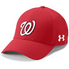 Men's Under Armour Washington Nationals Driving Adjustable Cap