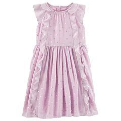 Girls 4-12 OshKosh B'gosh® Chiffon Waterfall Dress