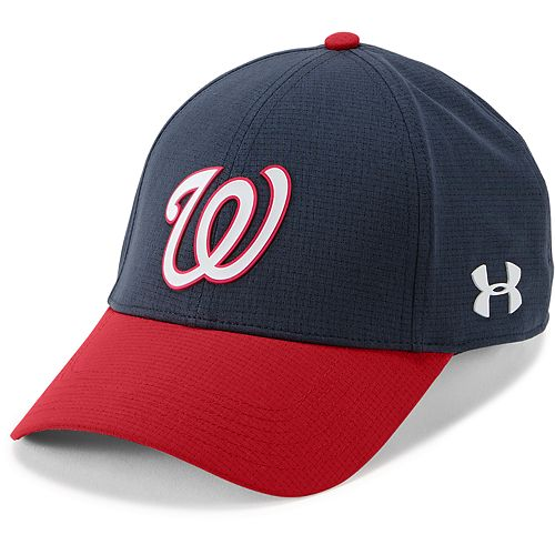Men s Under Armour Washington Nationals Driving Adjustable Cap 744bd34f5b2
