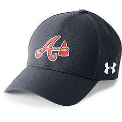 Men's Under Armour Atlanta Braves Driving Adjustable Cap