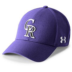 Men's Under Armour Colorado Rockies Driving Adjustable Cap